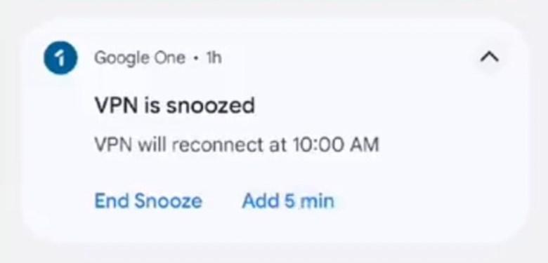 Google Vpn Snooze