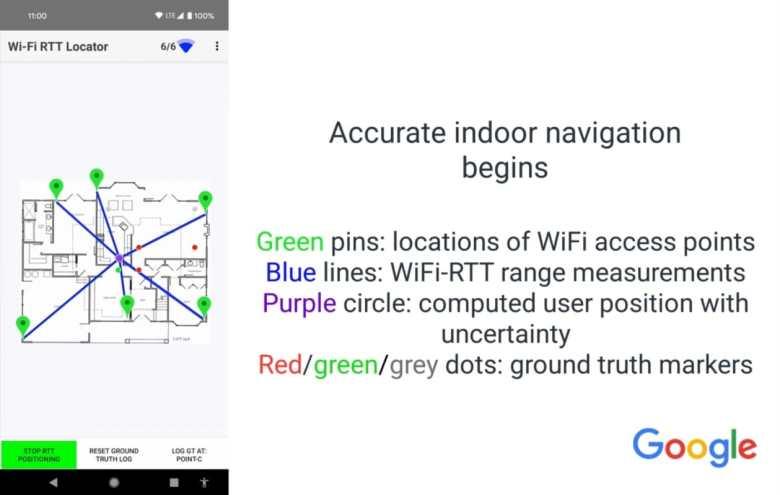 Indoor Navigation Rtt Google App