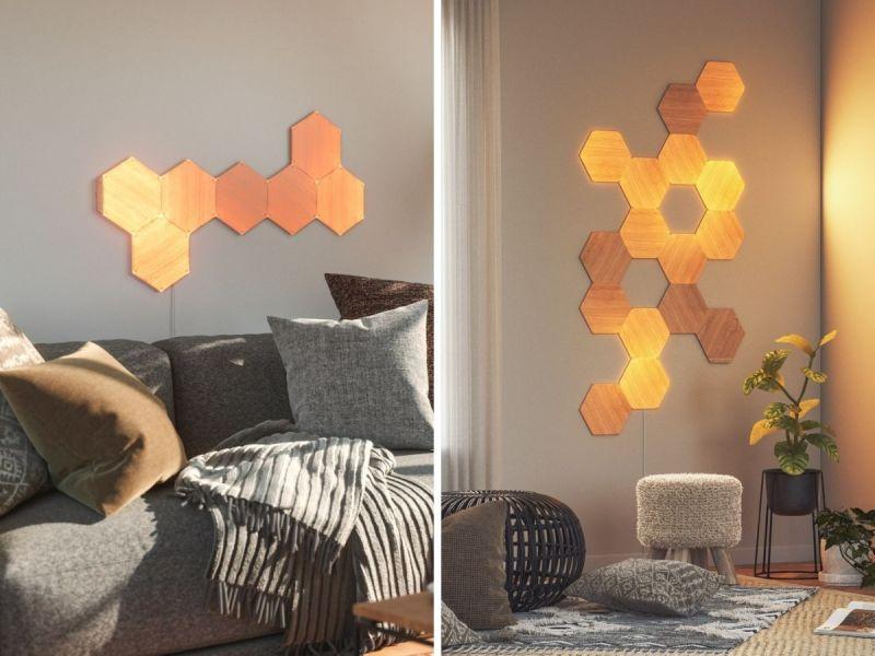 Nanoleaf Elements Holz Panels Led
