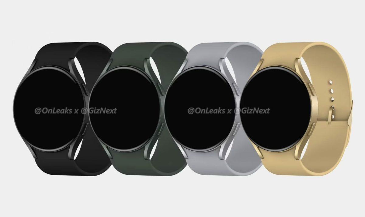 Samsung Galaxy Watch 4 Active Leak 1