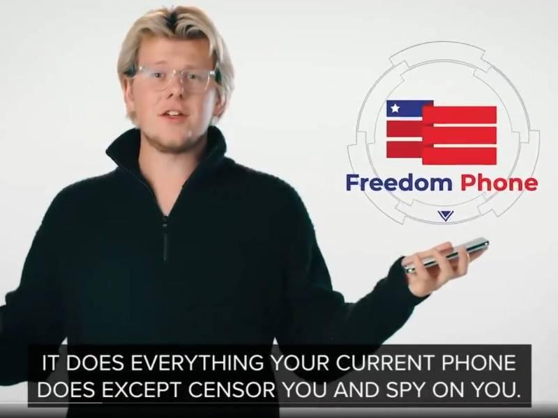 Erik Finman Freedom Phone