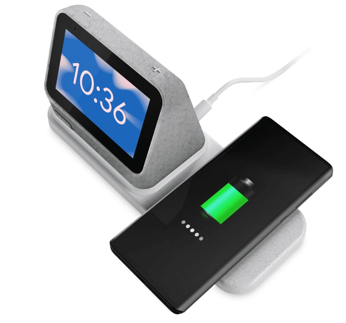 Lenovo Smart Clock 2 Birdeye With Dock E1624557974848 1536x1432