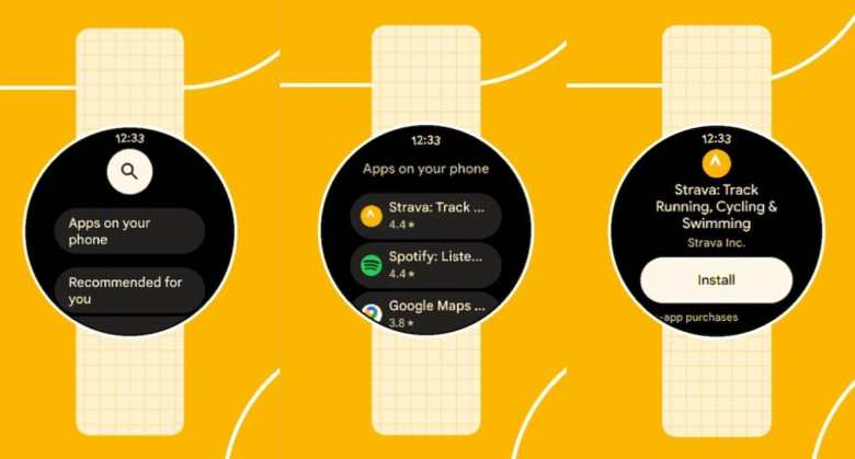Wear Os Play Store Material You