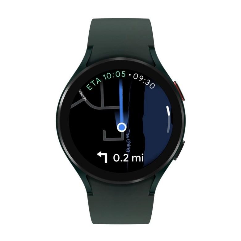 Google Maps Galaxy Watch 4 Wear Os
