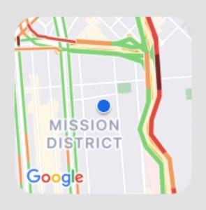 Google Maps Verkehr Widget