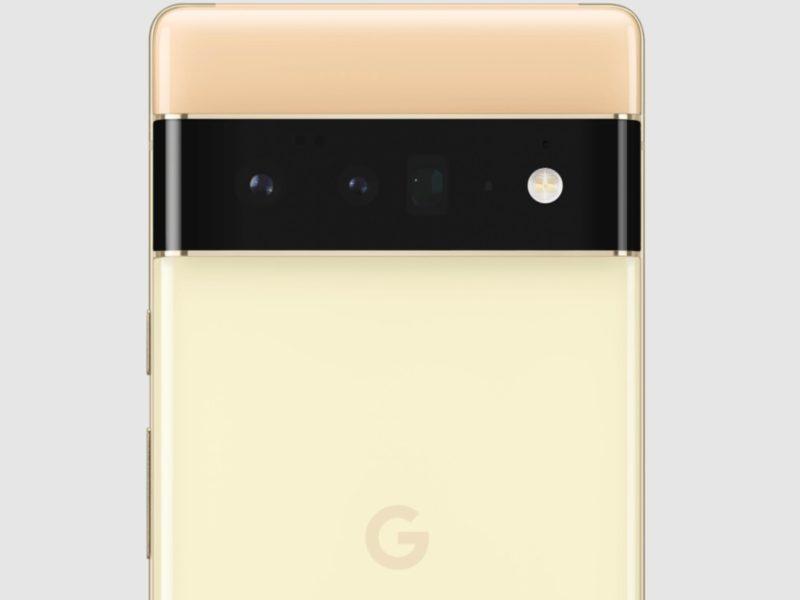 Google Pixel 6 Pro Rueckseite