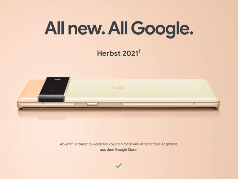 Google Pixel 6 Teaser