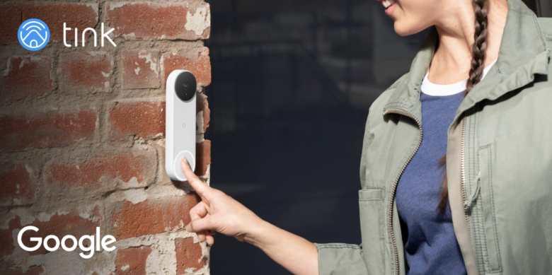 Nest Doorbell Mit Akku Tink