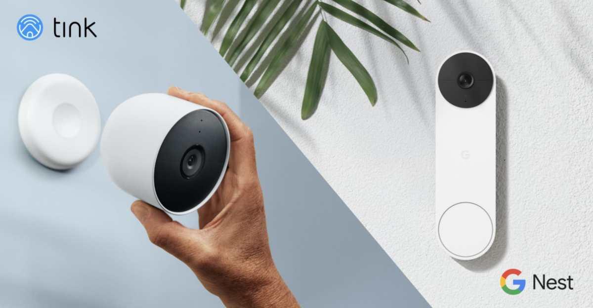 Nest Doorbell Und Cam Mit Akku Tink