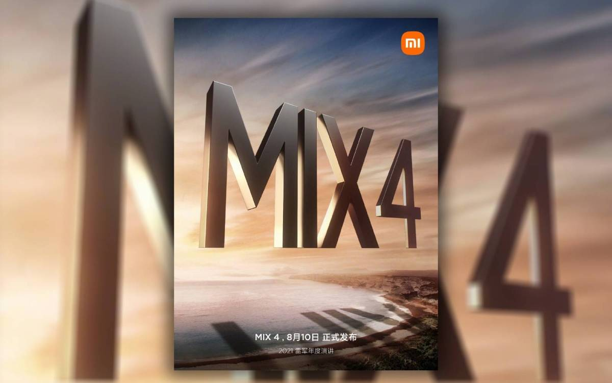 Xiaom Mi Mix 4 Teaser