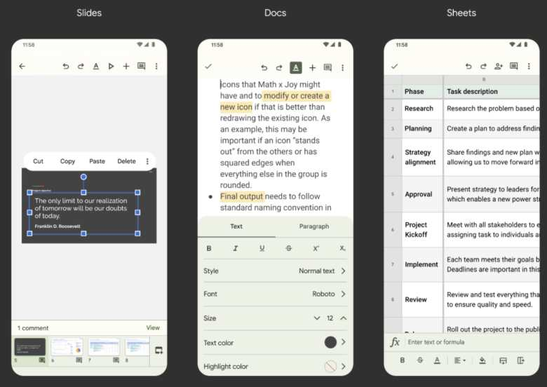 Google Workspace Apps Material You2