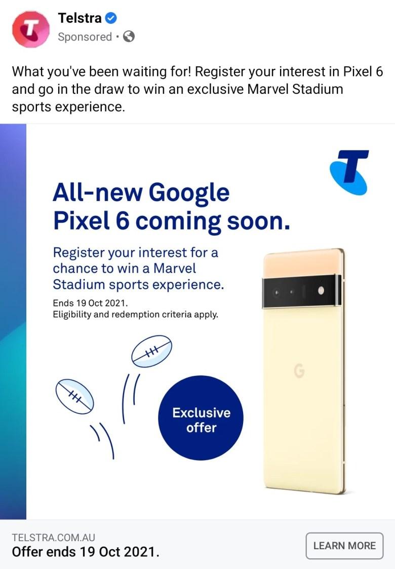 Pixel 6 Fb Ad