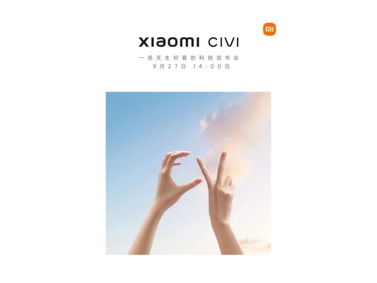Xiaomi Civi Teaser September 2021