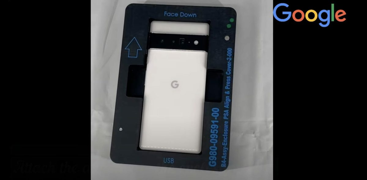 Google Pixel 6 Pro Fabrikvideo