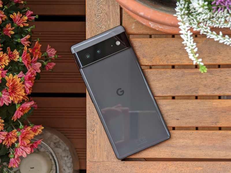 Google Pixel 6 Schwarz Head