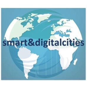 Symbol of the global movement Smart&DigitalCities