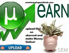 Earn with UTORRENT
