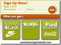 sign up for online surveys