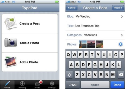 TypePad for iPhone