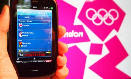 olympics 2012 goes  socially leaked smartphones