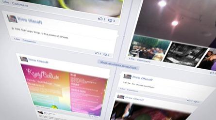 timeline movie facebook