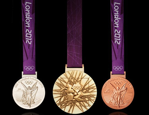 worth of olympics 2012 london gold silver and bronze medal