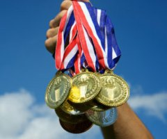 how olympic athletes earn