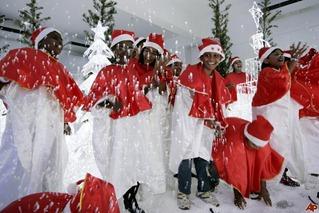 christmas countries 2012