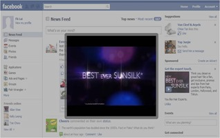 video ads, sun silk fans incrase 10 folds with video ads