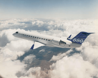 Bombardier Challenger 850 Learjet