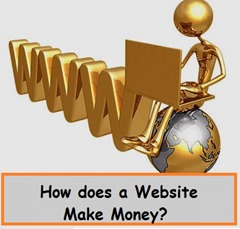 How does a website make money