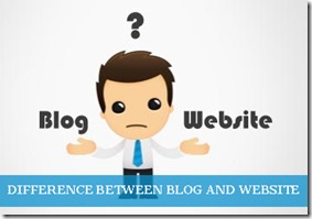 10 Major differences between a Blog and Website