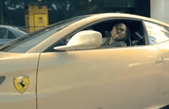 50 Cent loves to drive FF