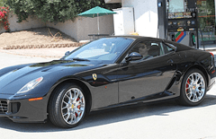 John Mayer loves to drive 599 GTB