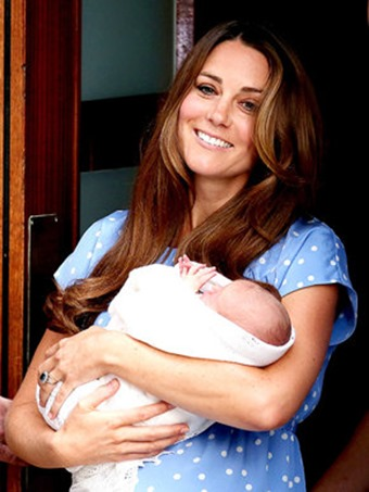 middleton with baby