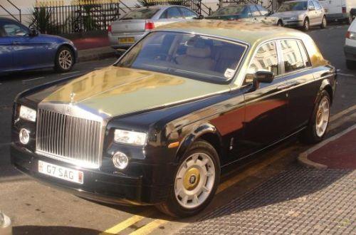 Rolls Royce Phantom from UK