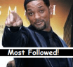 Top 20 Most Followed Actors in 2013