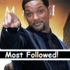 Top 20 Most Followed Actors in 2013