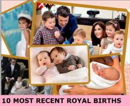 most recent royal births