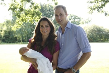 this is the first time since Prince George brought home