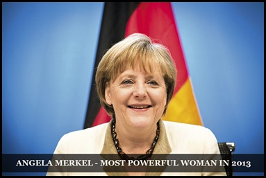 Angela Merkel - Most Powerful Woman in 2013