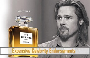 Expensive Celebrity Endorsements