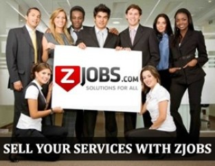 Sell your services with Zjobs and make money