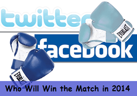 Will Twitter defeat Facebook in 2014