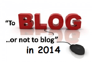blogging a professional business in 2014
