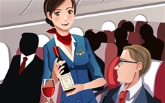 Flight Attendant worst career for students