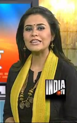 Sucherita Kukreti popular Indian Anchor