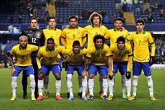 Brazil Football team that may win FIFA