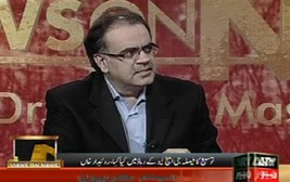 Dr Shahid Masood popular Pakistani journalist
