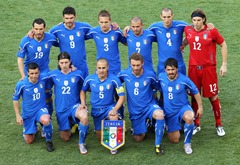 Italy Football team that may win FIFA